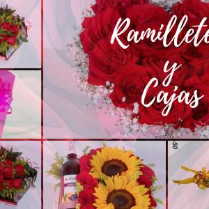 Arreglos Florales en Cajas y Ramilletes
