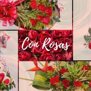 Arreglos Florales con Rosas