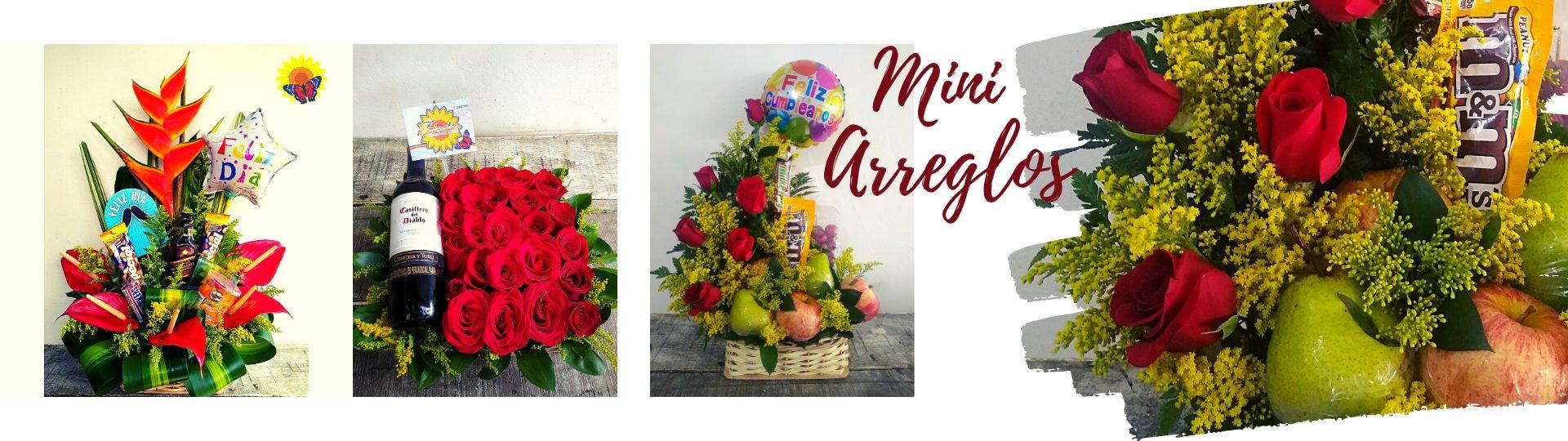 Mini Arreglos florales